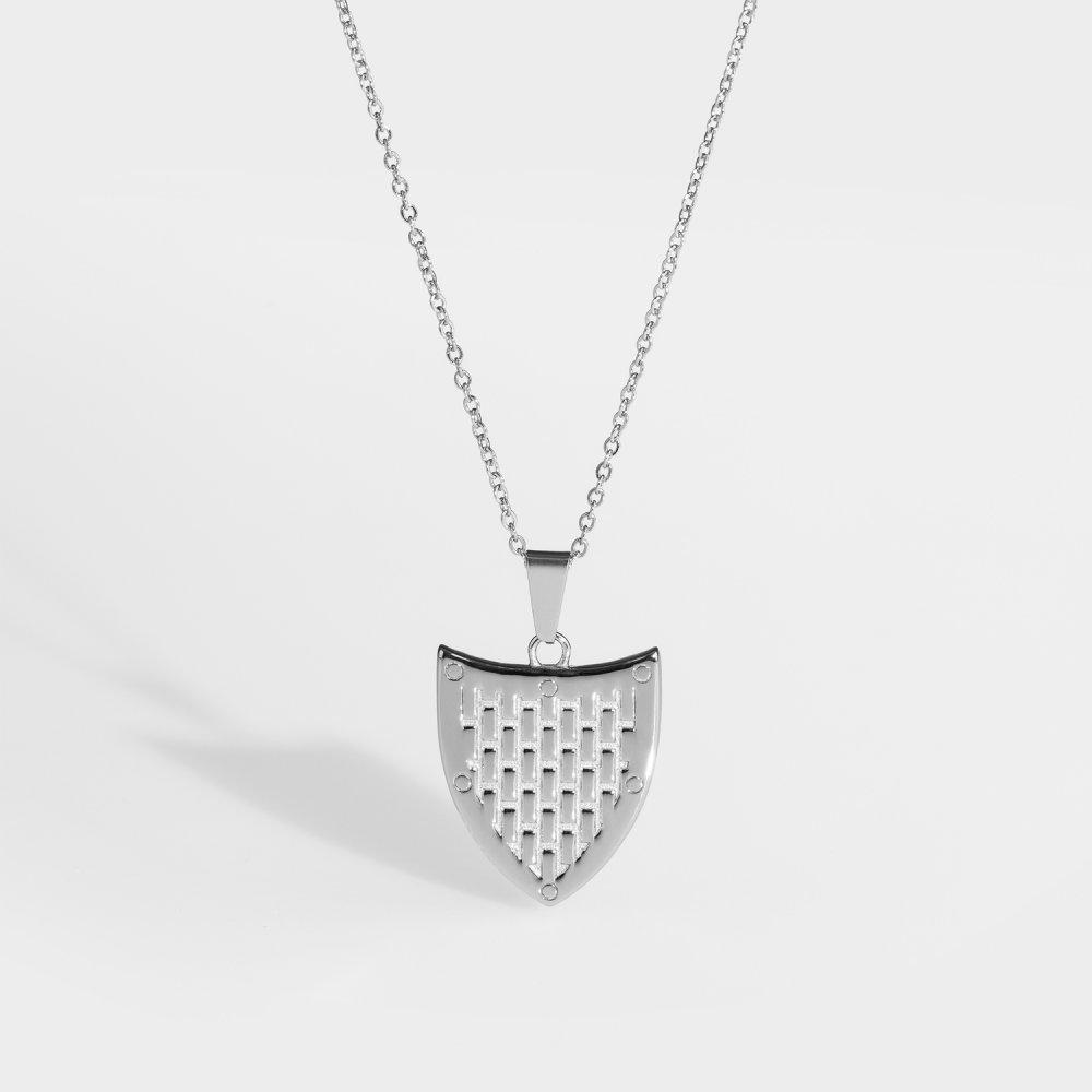 NL Shield halskæde - Sølvtonet