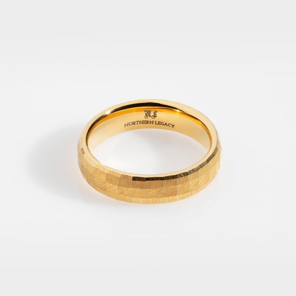 Siempre Cushion band - Guldtonet ring
