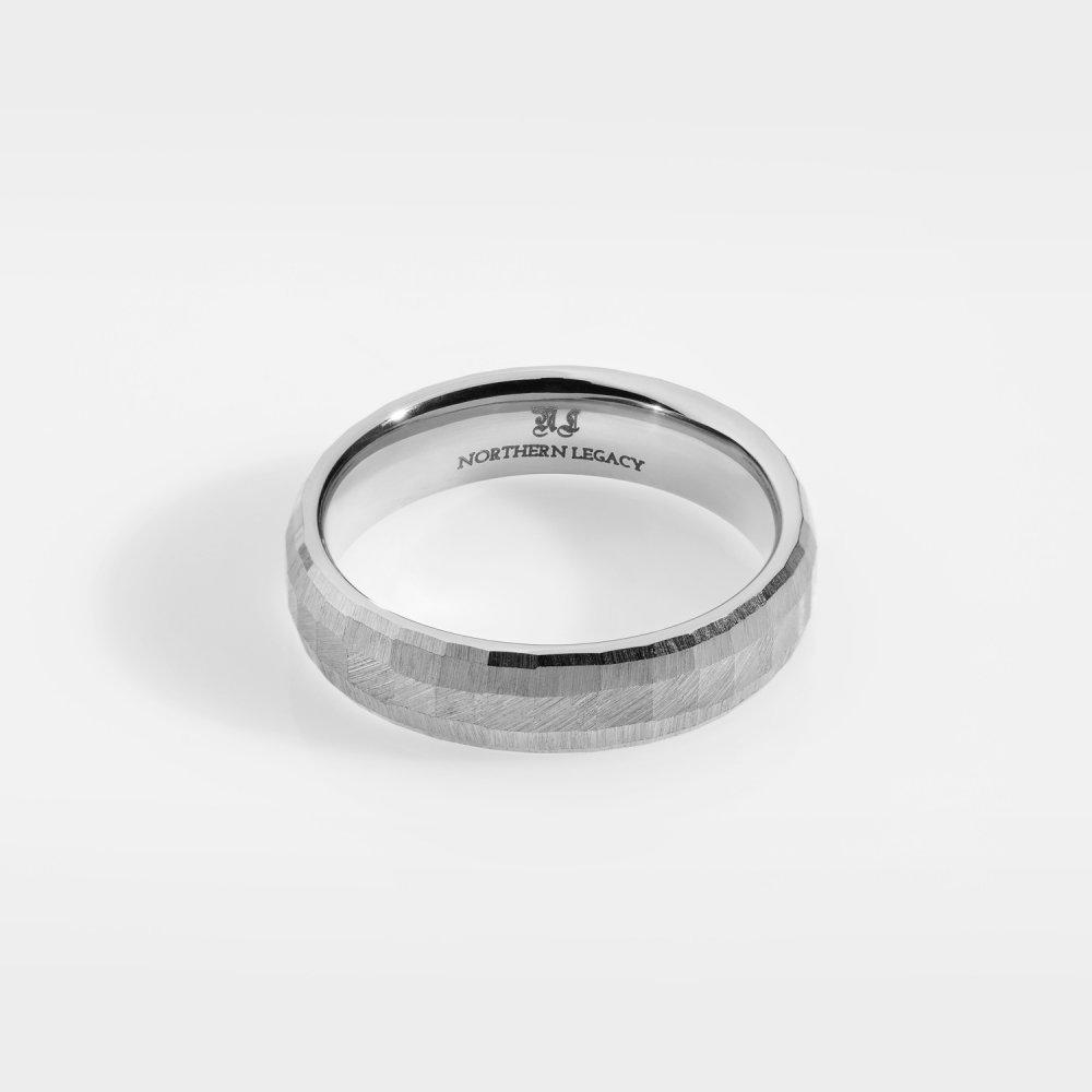Siempre Cushion band - Sølvtonet ring