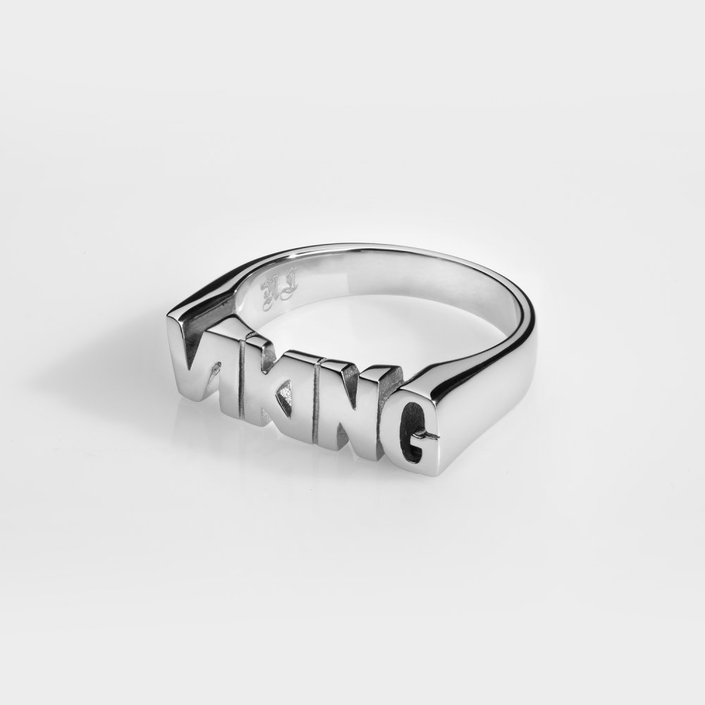 VIKING Signature - Sølvtonet ring