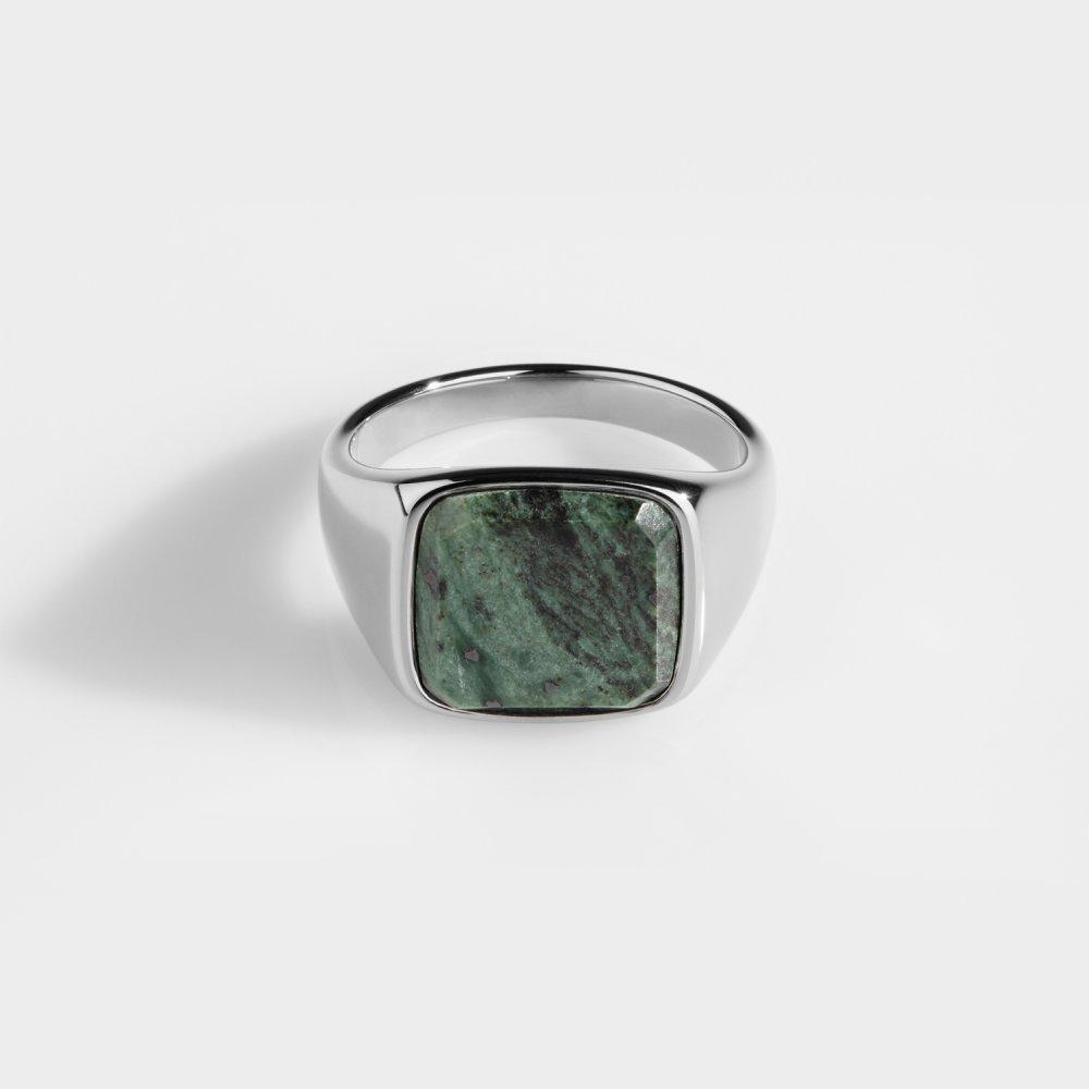 Verde Signature - Sølvtonet ring