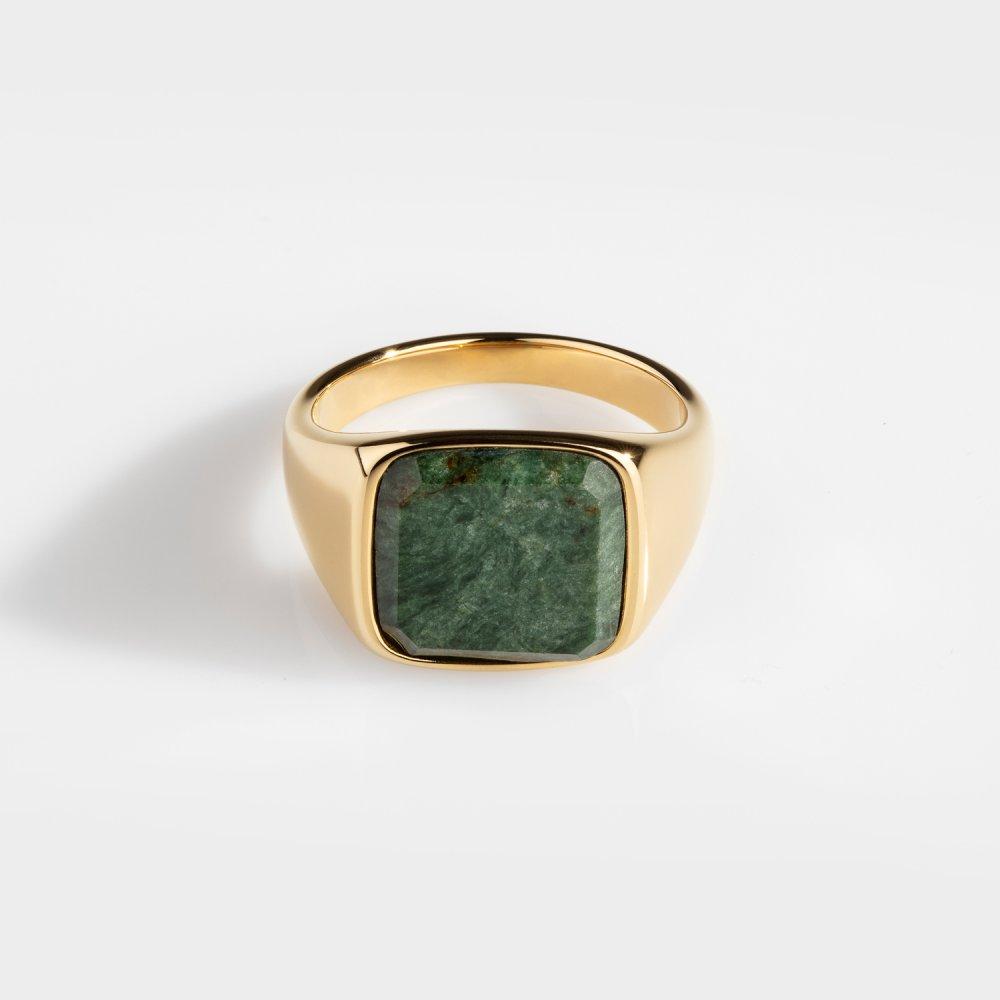 Verde Signature - Guldtonet ring