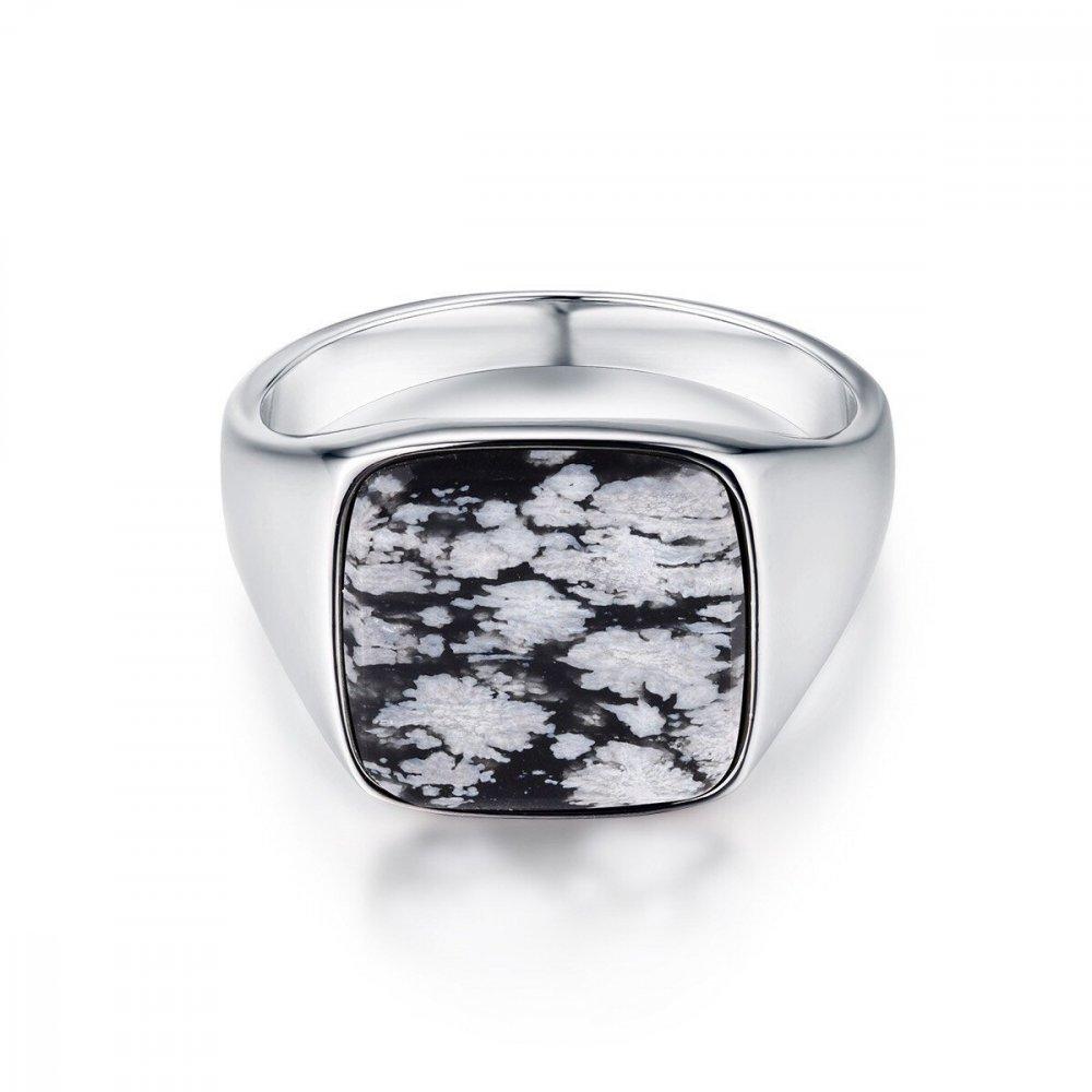 Snowflake Signature - Sølvtonet ring