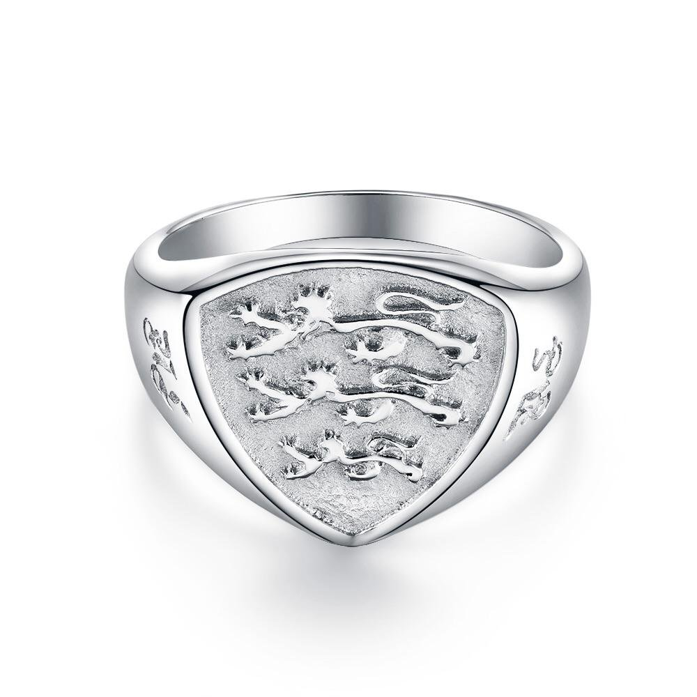 Panthera Polygon Signature - Sølvtonet ring